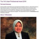 Risma Menangi Urban Professional Awards