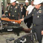 Royal Thai Army Tertarik Senjata Pindad