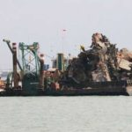 Pelindo III Sukses Angkat Bangkai Kapal