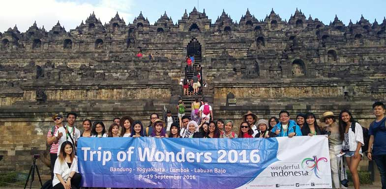 Influencer dan Blogger Ikuti Trip of Wonders