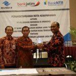 Bank Jatim dan BPD NTB Dukung Transaksi Kepelabuhan Pelindo III