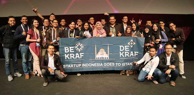 Startup Indonesia Lolos 15 Besar Istanbul