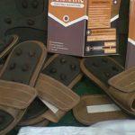 Sandal Terapi Limbah Biji Salak