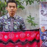 Jumputan Batik Bermotif Virus