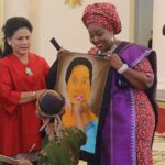 Sambutan Hangat Ibu Negara di Istana Bogor