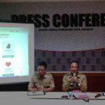 Warga Surabaya Antusias Akses E-Lampid