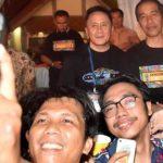 Jokowi Saksikan Synchronize Fest 2017