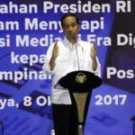 Jokowi Minta Media Sajikan Hal Kreatif