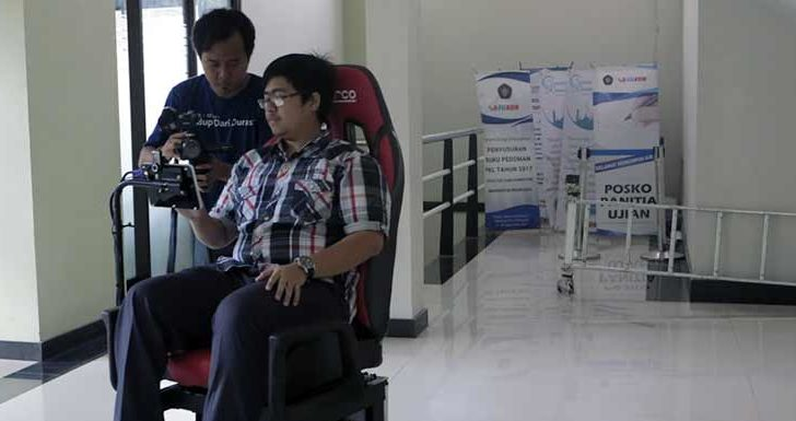 Smart Wheelchair Khusus Disabilitas