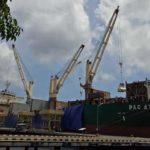 Tanjung Wangi Bongkar 16.497 Ton Kedelai