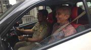 Gubernur Sulsel Uji Coba Mobil Listrik