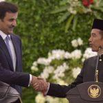 "Jokowi Promo ""10 New Bali"" ke Emir Qatar"