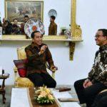 Jokowi Titip MRT, LRT, dan Jakarta Bersih