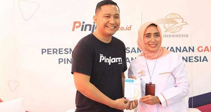 Pinjam.co.id Gandeng Pos Indonesia