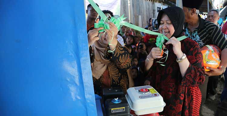Risma Soft Launching Bank Sampah