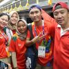Menpora Jajal Naik LRT di Palembang