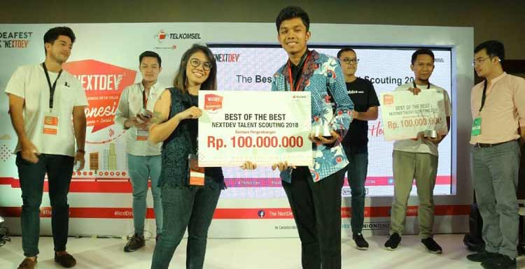 Pemenang Telkomsel The Nextdev 2018