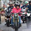 Jokowi Blusukan Naik Motor ke Pasar