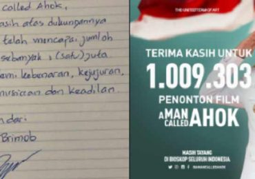 A Man Called Ahok Tembus 1 Juta