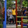 Percantik Taman 10 Nopember Surabaya