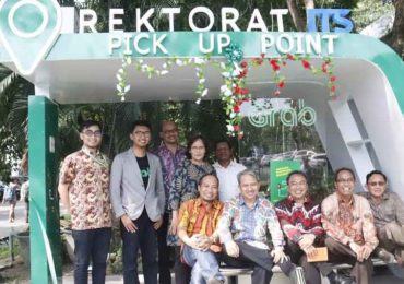 Hadirkan Grab Smart Shelter di ITS