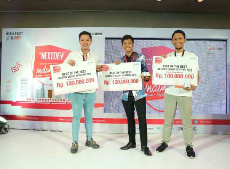Telkomsel Tunjuk Dua Start-Up The NextDev Academy