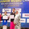 Atlet Wushu Cilik Raih Juara Asia Junior