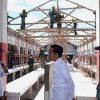 Jokowi Tinjau Rehab Pasar Wouma