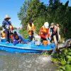 Ada Limbah Dibuang ke Kali Surabaya