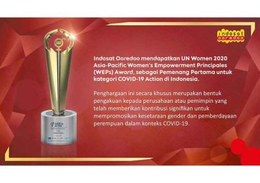 Indosat Ooredoo Raih UN Women 2020 Asia-Pacific WEPs Awards