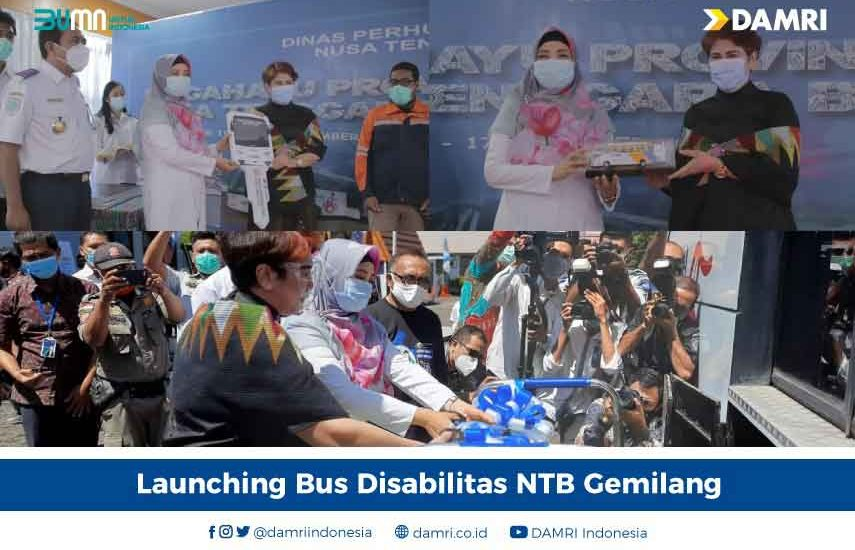 Launching Bus Disabilitas di NTB