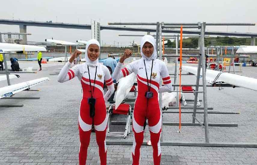 Atlet Dayung Lolos Olimpiade Tokyo