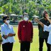 Jokowi Tinjau Tempat KTT G20 di Bali